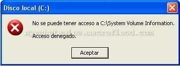 Acceso denegado Windows XP