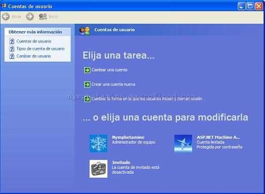 Cuenta ASP Machine Account