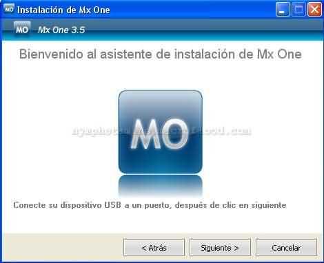 Instalacion mxone en pendrive