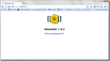 Instalacion Mediawiki