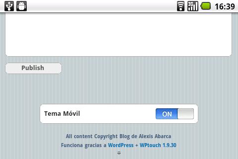 Plugin de Wordpress para crear una version movil de tu sitio | Blog ...