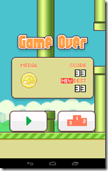 Flappy Bird Medalla Oro