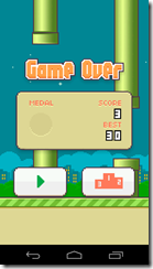 Flappy Bird Sin medall